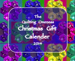 Quilting Oneness Christmas Gift Calender